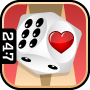 Valentine Backgammon